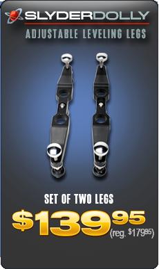 SlyderDolly - Adjustable Leveling Legs