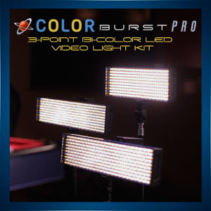 ColorBurst Pro 3-Point Light
