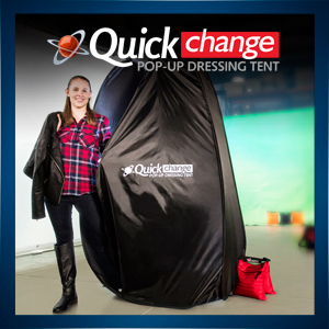 Quick Change Pop Up Dressing Tent