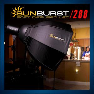 SunBurst 288 LED Softbox Kit